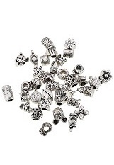 alluring itty-bitty antique pandora charm for babies and kids