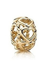 gorgeous teensy-weensy lucky in love pandora baby charm
