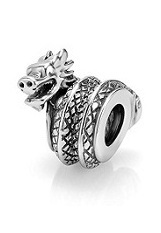 terrific sterling silver dragon pandora charm for babies and kids