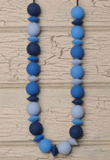 delightful small natural silicone ruber chewable necklace