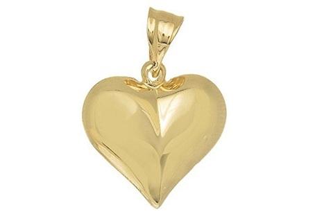 JewelStop 14k Yellow Gold Dolphin Charm Pendant