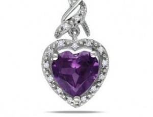 lovely baby jewelry - a little baby heart pendant