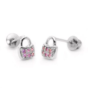 marvelous baby jewelry - little sterling silver earrings